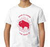 Youth T-Shirt, White (100% cotton)
