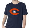 Youth T-Shirt, Navy (100% cotton)