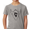 Youth T-Shirt, Dark Heather Gray