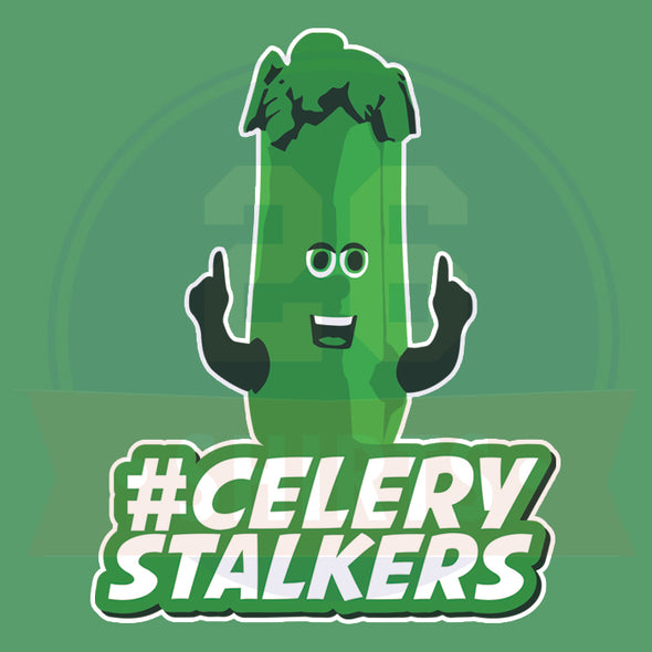"Buffalo Vol. 2, Shirt 17: ""#CeleryStalkers"""