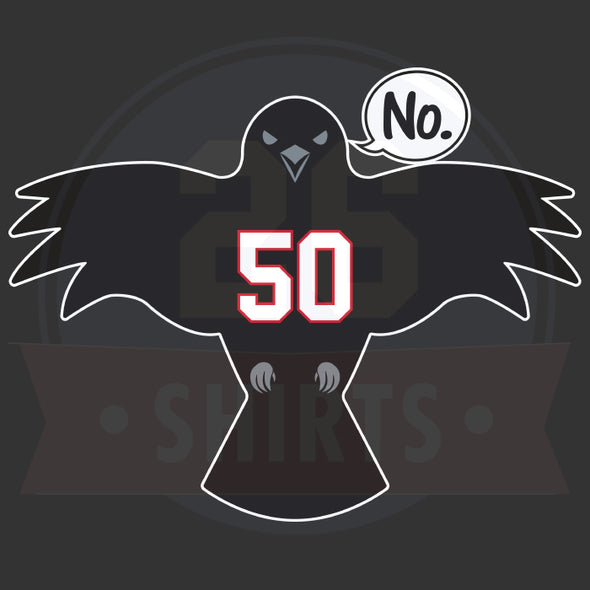 "Limited Availability: ""Crow Says No"""