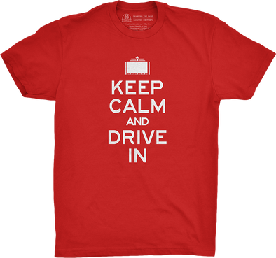 "Special Edition: ""Keep Calm and Drive-In"" (Red)"