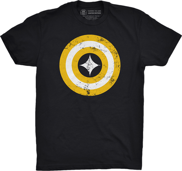 "Pittsburgh Vol. 3, Shirt 23: ""Captain Pittsburgh"""