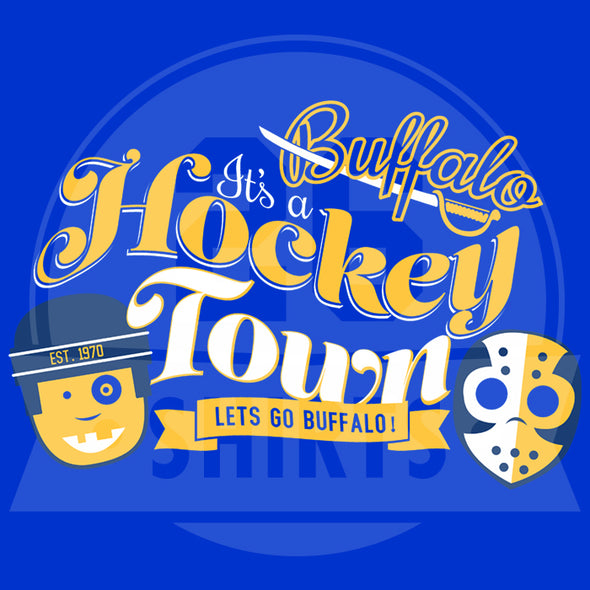 "Buffalo Vol. 4, Shirt 1: ""It's a Hockey Town"""