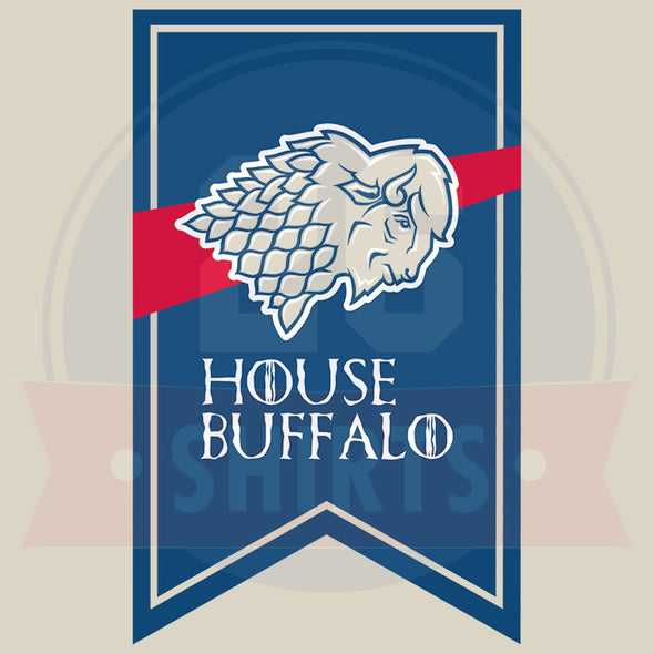 "Buffalo Vol. 3, Shirt 13: ""House Buffalo"""
