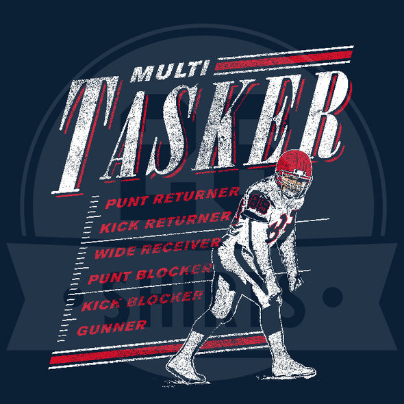 "Buffalo Vol. 3, Shirt 15: ""Multi Tasker"""