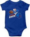 Baby Onesie, Royal (100% cotton)