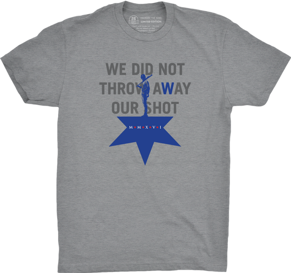 "Chicago Vol. 2, Shirt 24: ""Our Shot"""