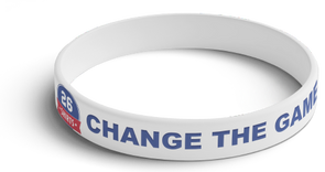 """Change the Game"" Wristband"