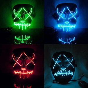 Purge Style Halloween LED Mask - Great Gadgets