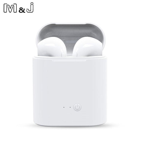 Wireless Bluetooth Earbuds  With Charging Box - Great Gadgets