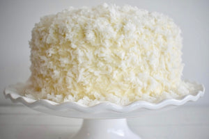 Coconut Cream Cheese layer cake