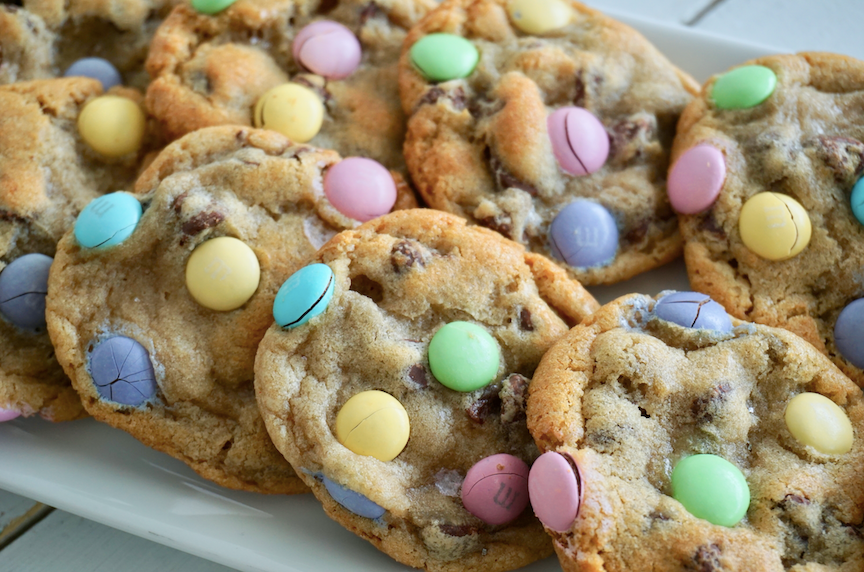 Easter M&M Chocolate Chip