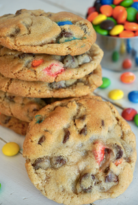 M&M Chocolate Chip cookie