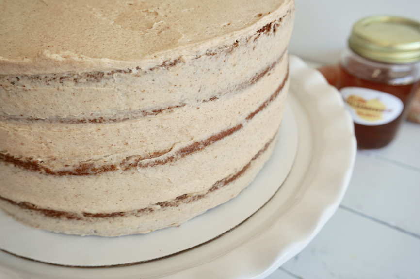Sweet Potato layer cake