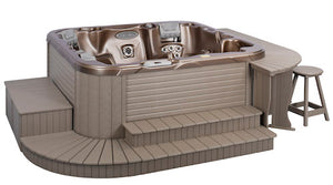 A & B Accessories Customizable Hot Tub Surrounds
