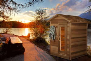 Outdoor Cabin Saunas by Dundalk LeisureCraft
