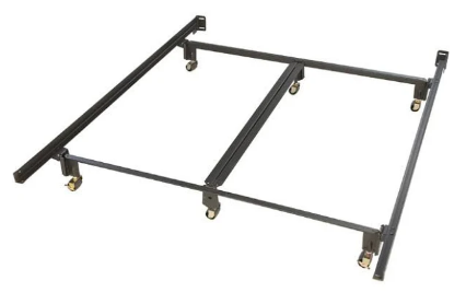 Heavy Duty Metal Frame with Wheels