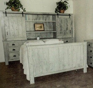 Modern Rustic Deluxe Bed by Waterfall Woodcraft