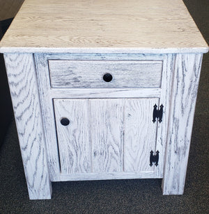 Modern Rustic Nightstand by Waterfall Woodcraft