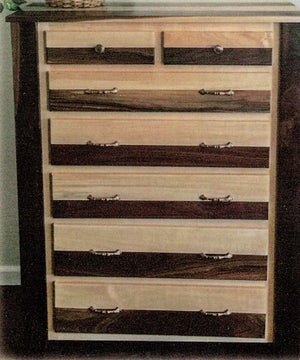 Natural Treat 7 Drawer Chest by Waterfall Woodcraft