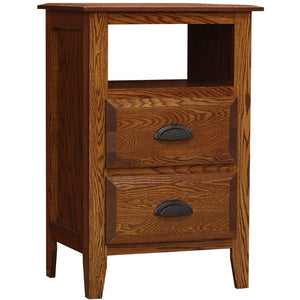 Summit 2-Drawer Nightstand by Wolfcraft