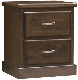 Vesper 2 Drawer Nightstand by Wolfcraft
