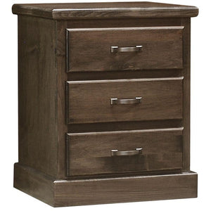 Vesper 3 Drawer Nightstand by Wolfcraft