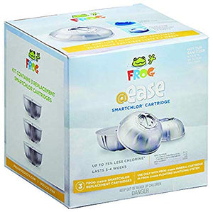 Frog @ease SmartChlor cartridges for floating system