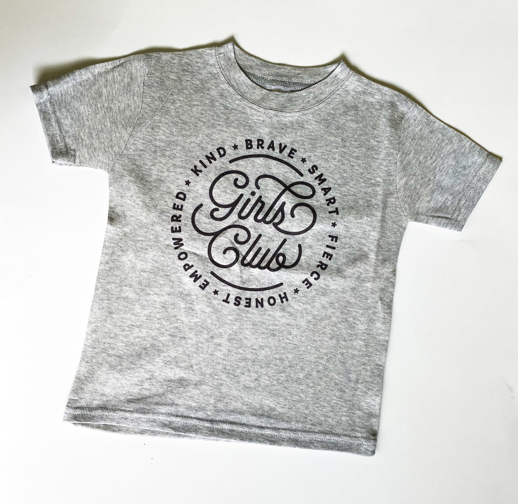 Girls club shirt