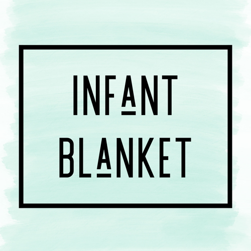 Infant blanket PRELOADED DESIGN