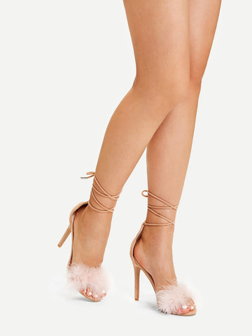 Criss Cross Stiletto Heels