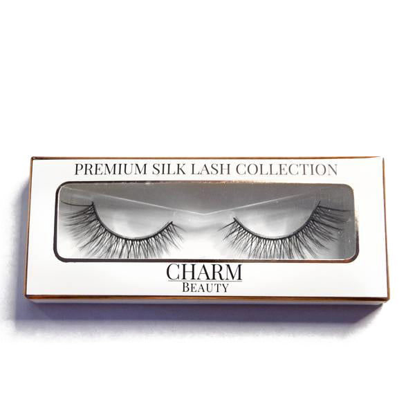 Dainty Lashes - Premium 100% Silk Lashes - Charm Beauty Lashes - www.charmbeautylashes.com.au