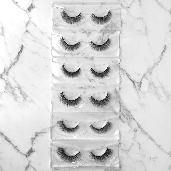 Fluffy Lash Collection (6 pairs)