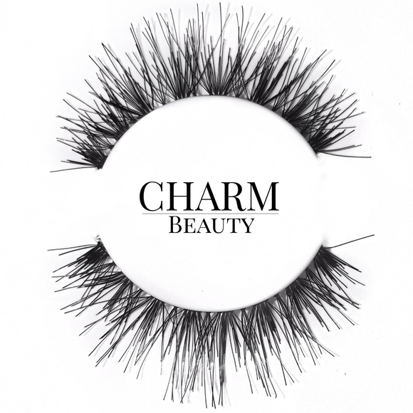 #415 / #99 Human Hair Lashes - Pro MUA Lashes - Charm Beauty Lashes - www.charmbeautylashes.com.au