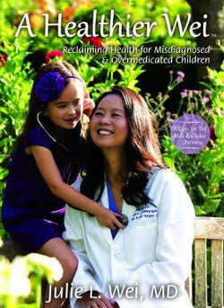 Dr. Wei and her daughter on the cover of the book