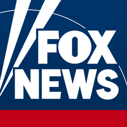 White Fox News logo on a navy background with a red band below it