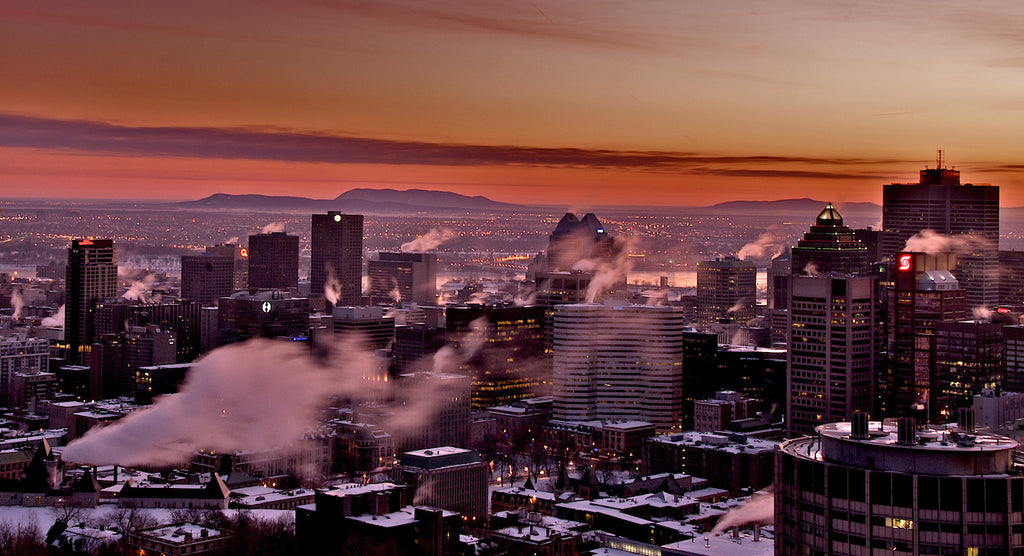 Montreal Magic Sunrise