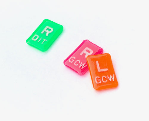 Neon Colored X-ray Markers