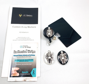 Skeleton Gift Set X-ray Markers