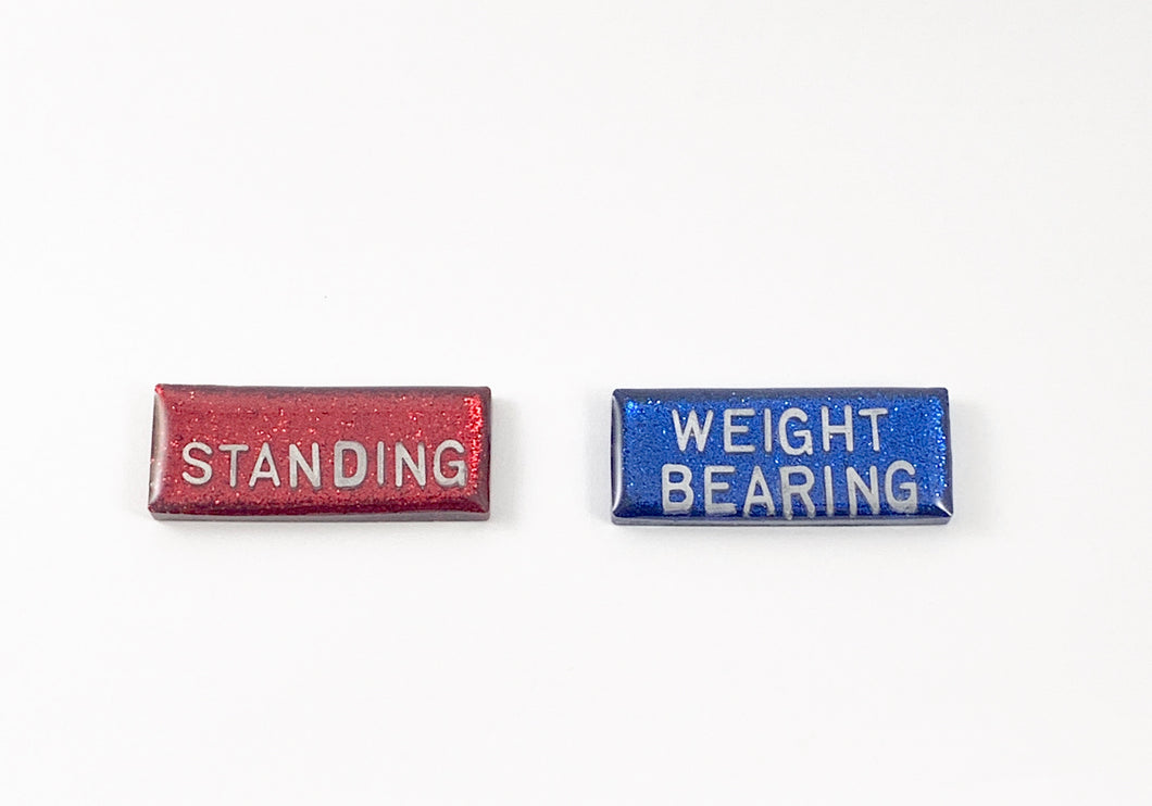 Standing and Weight Bearing X-ray Markers