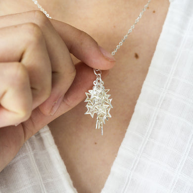 Cascading Stars Necklace