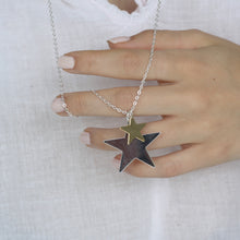 Load image into Gallery viewer, Double Star Necklace