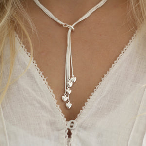 Cluster of Hearts Necklace
