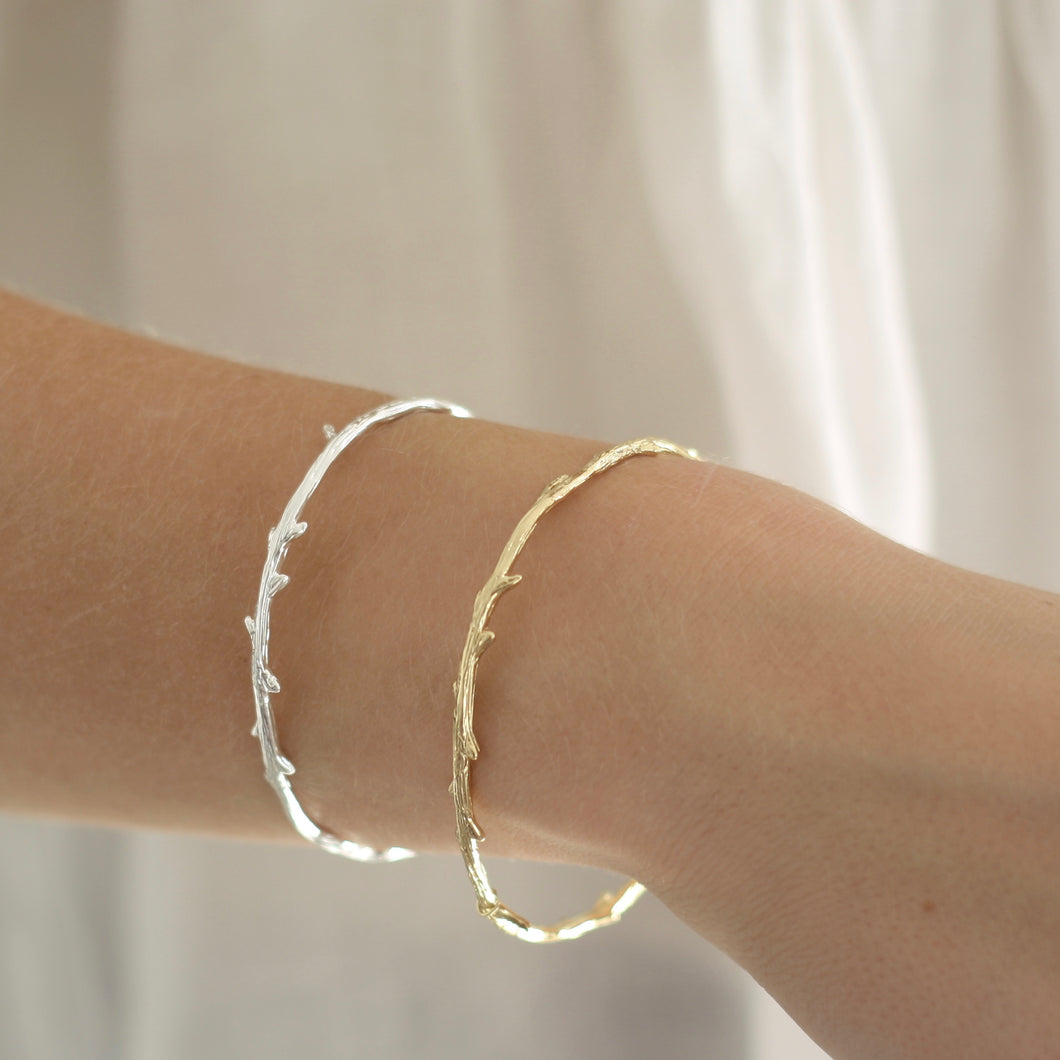 Slim Branch Bangle