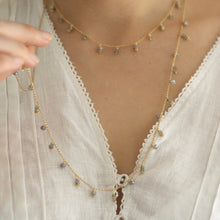 Load image into Gallery viewer, Gemstone Maxi Necklace