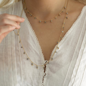 Gemstone Maxi Necklace