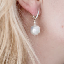 Load image into Gallery viewer, Large Freshwater Pearl Ball Earrings