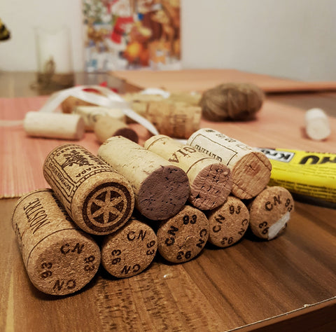 Wine Corks Christmas Tree - Wine Is Life Store