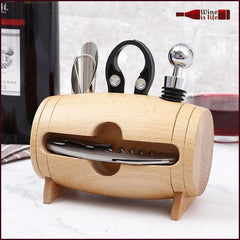 Wooden Barrel Tool Set - Wine Is Life Store